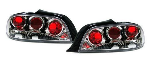 Peugeot 306 1993-2002 Cabriolet Chrome Lexus Style Rear Tail Lights