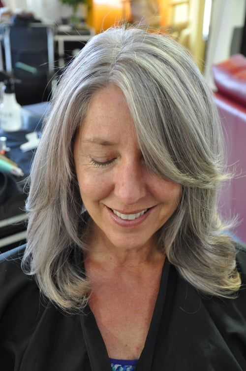 Pin by Shelley Davis on Gray hairtransition