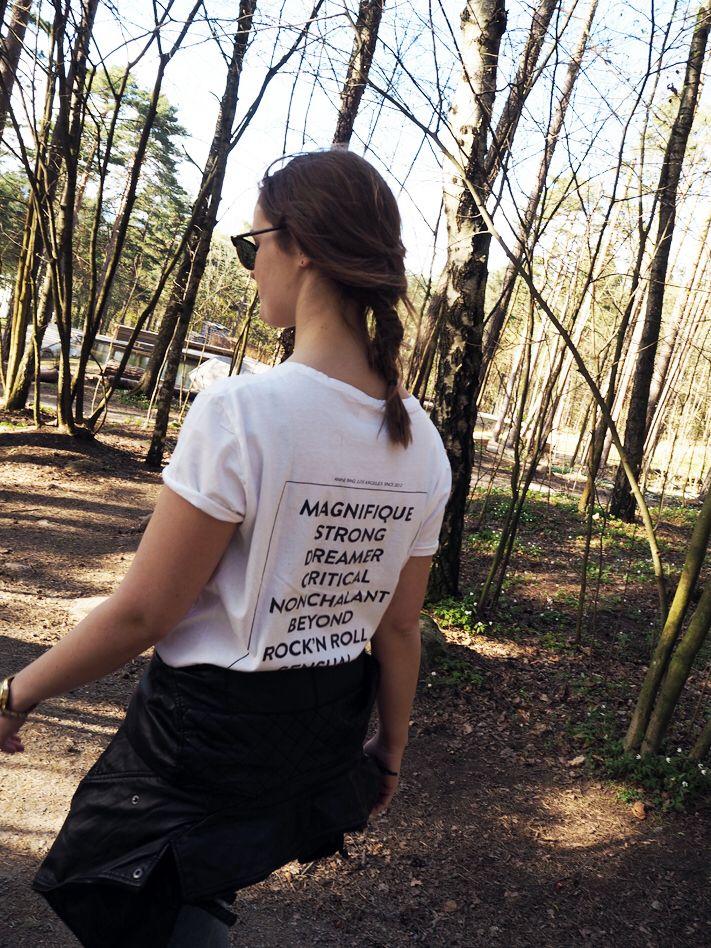 #ELLINORSANDE Love my #theempoweringtee by #aninebing
