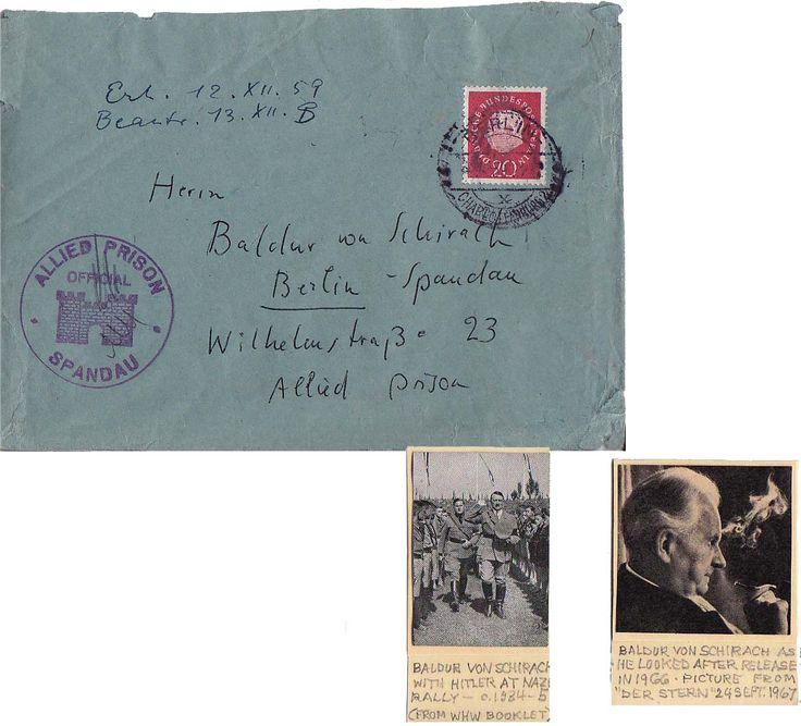Image result for baldur von schirach spandau prison