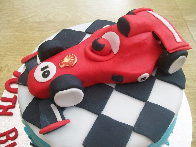 formula 1 racing car cake topper.cakeebakey by cakeebakey, via Flickr