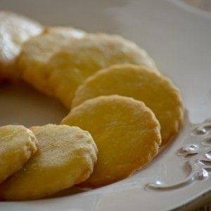 Sablés: French butter cookies. A heavenly cross between English Shortbread and American Sugar Cookies.