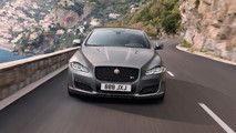 Jaguar XJR575 Can Sprint To 60 In 4.4 Seconds Starts At $122400 :  In an effort to reinvigorateone of its oldest offerings  the XJ has been on the market in its current form since 2009  Jaguar has decided to spruce up thelarge sedan with a special performance designation. The Jaguar XJR575 is the most powerful quickest production XJ the company has ever built and it made its world debut back in July.  Under the hood of the hot XJ is a 5.0-liter V8 producing 575 supercharged horses (422…