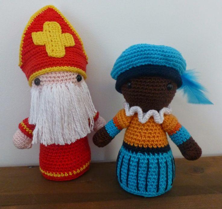 HAAKFEEST: 'Zwarte' Piet en Sinterklaas!