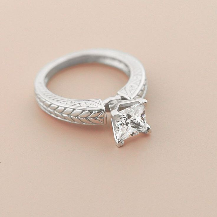 17 Best images about Solitaire Engagement Rings on Pinterest