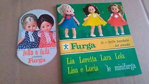 Catalogo-Furga-bambole-minifurga-cataloghino-Lella-e-Lulu