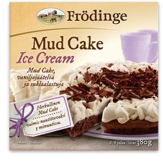 Mud cake Ice Cream Frödinge Mejeri