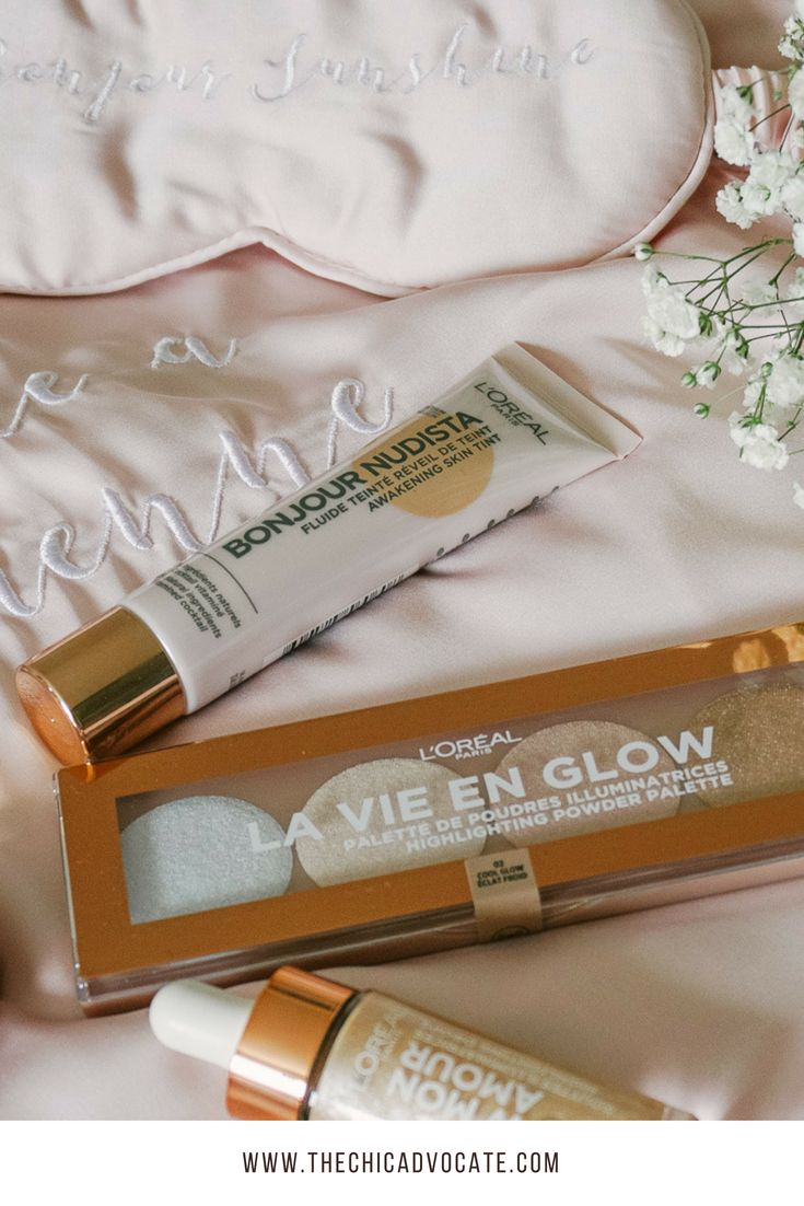 Make-Up Review: L'Oréal Glow Collection