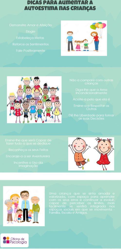 Dicas para Aumentar a Auto-estima nas Crianças