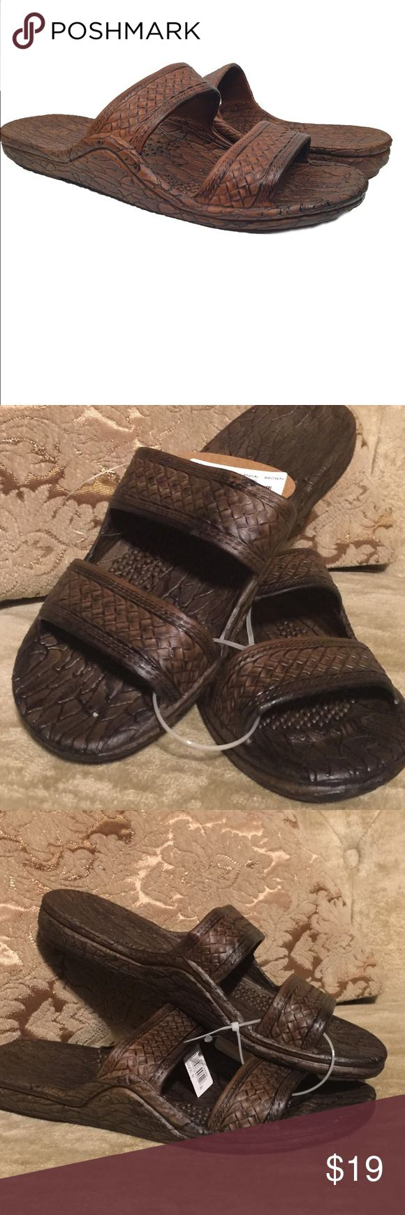 """""""Jandels"""" size 8 100% vegan Pali Hawaii Jesus Sandals aka 'Jandals' are stylish, comfortable, and one of the most popular sandals in Hawaii... Aloha! Shoes Sandals"""
