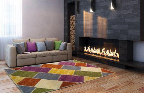 Alfombras de fabricación nacional DIAMANTE. Diseño y calidad en alfombras de lana.