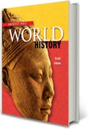 Prentice Hall World History: Activity-Based Learning. Hands-on Activities Explore Big Ideas in World History. From simple activities to complete whole-class projects, the Historian's Apprentice Activity Pack supports the study of World history and encourages students to use authentic primary sources to answer intriguing questions. Check out some sample materials and teacher lesson plans that empower your students to seize history (so they won't repeat it...)