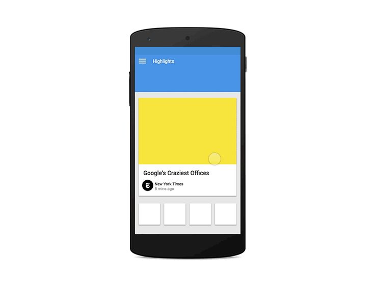 Material Design with Framer.js