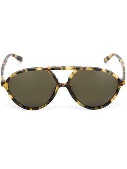Valentino Garavani curved top sunglasses
