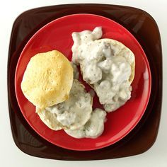 White Sausage Gravy Recipe -A Southern specialty, this hearty pork sausage gravy uses sausage drippings, milk and flour to make a thick creamy gravy traditionally served over biscuits. —Taste of Home Test Kitchen