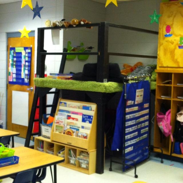 Classroom Loft Ideas ~ Best images about reading loft on pinterest