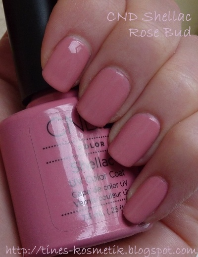 Tines Kosmetikblog: CND Shellac Rose Bud