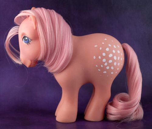 Vintage-My-Little-Pony-G1-Cotton-Candy-MLP-1983-1984-Year-2-Earth-Ponies