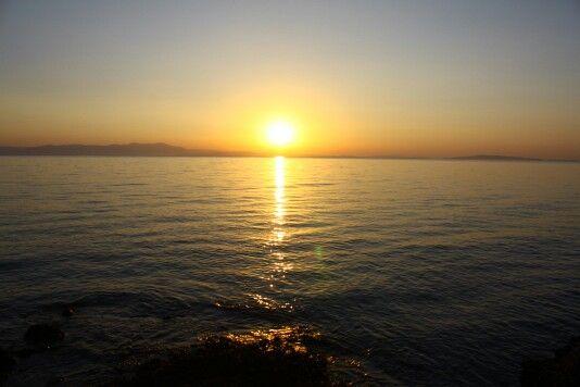 Zaritsi, arcadia - sunrise