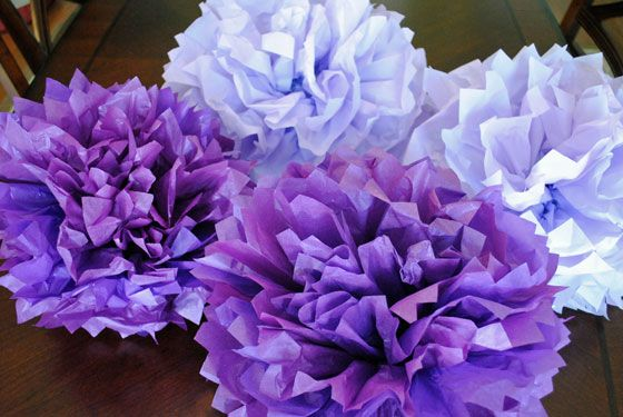 tissue paper flowers martha stewart Martha stewart shares her simple, homemade gifts that mom will love  pom  pom flowers, and since they are made from tissue paper, you can.