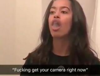 Malia Obama Smoke Rings (Video)  The moment when Malia Obama stopped caring. Malia smokes and she's clearly not ashamed. Her father Barack Obama was a smoke so he most likely understands. I'm surprised her mother Michelle Obama hasn't intervened. Like Barack Michelle is a Harvard Law graduate so she should be able to convince Malia that smoking kills.  Malia clearly sets her own rules. She's under extreme amounts of pressure and people are constantly taking pictures of her. Malia refuses to…