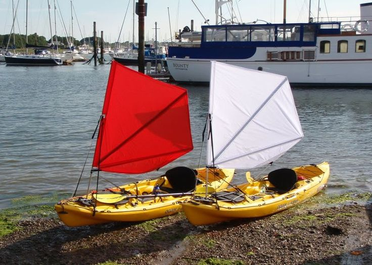Use Accessories To Link Your Island To The Rest Of Your: My DIY Kayak Sail - Yakdiver Blog