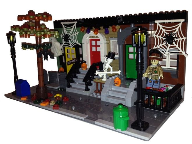 lego halloween - Google Search                                                                                                                                                      More