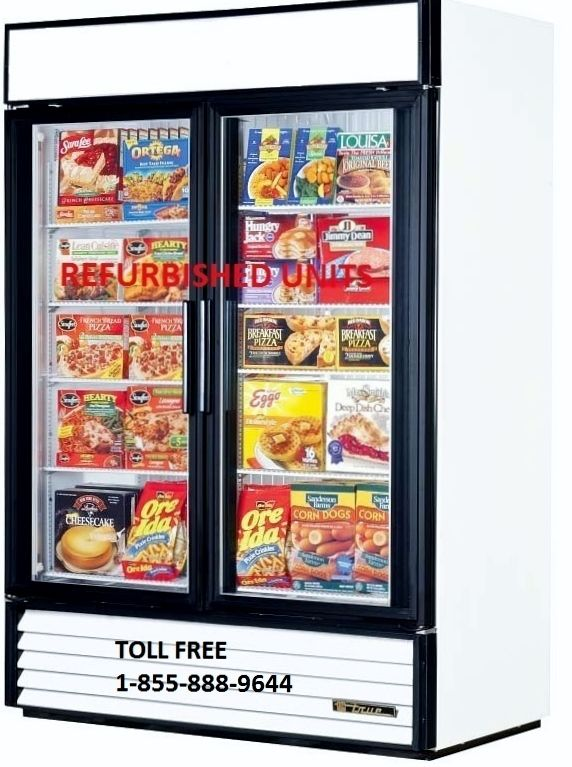 TRUE GDM 49F GLASS DOOR FREEZER ONLY $2999.00 CAD.  DELIVERY ACROSS CANADA.  PLEASE VISIT OUR WEBISTE FOR DETAILS.  www.ancasterfoodequipment.com