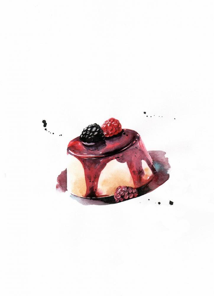 Watercolor food | Malikova Darya