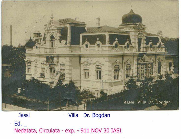 Villa Dr. Bogdan, 1911, Iasi, Romania