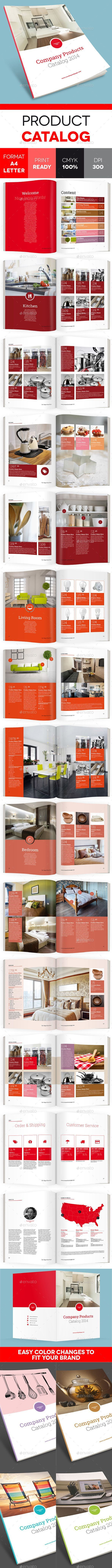 *J* - Flat Product Catalog Brochure - Catalogs Brochures:
