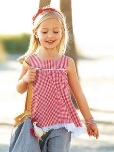 Schnittmuster: Hängerchen - Lagen-Look - Mädchen - Gr. 92 - 188 - Kinder - burda style