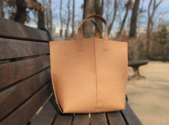 Kraft Paper Fabric Bag $23