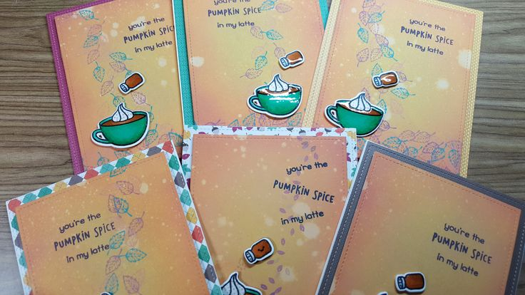 Loving this #Lawnfawn stamp set and all things pumpkin-y!
