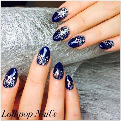 Royal Blue- with Lollipop Nail's http://nailish.fr/lang/237-gel-couleur-cupio-royal-blue.html