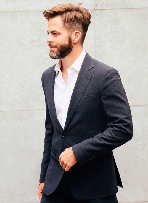 Brown Belt Black Suit Dress Yy