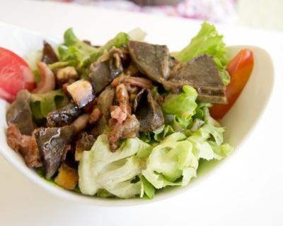 Salade Perigourdine facile