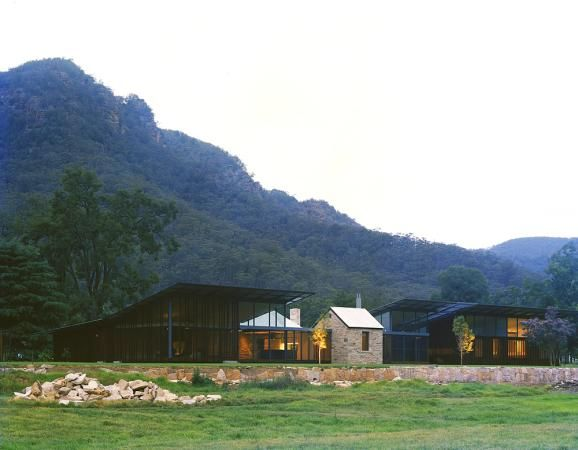 House in Country NSW, Aus. Virginia Kerridge Architects.
