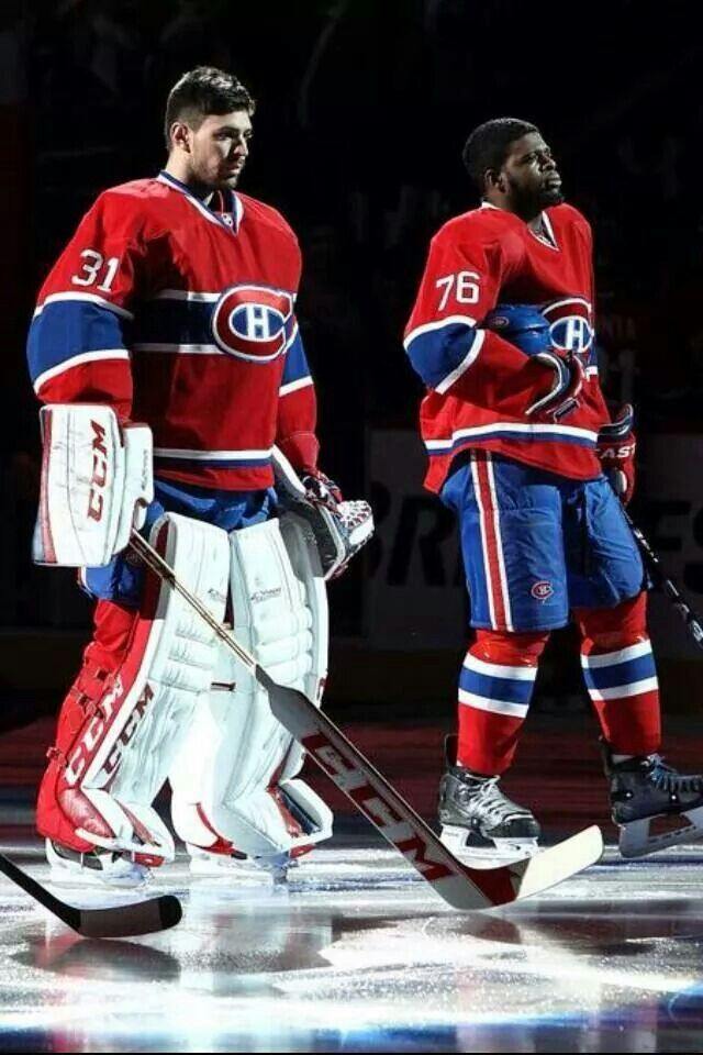 Carey price and p.k. subban - two of my favourite Canadiens!