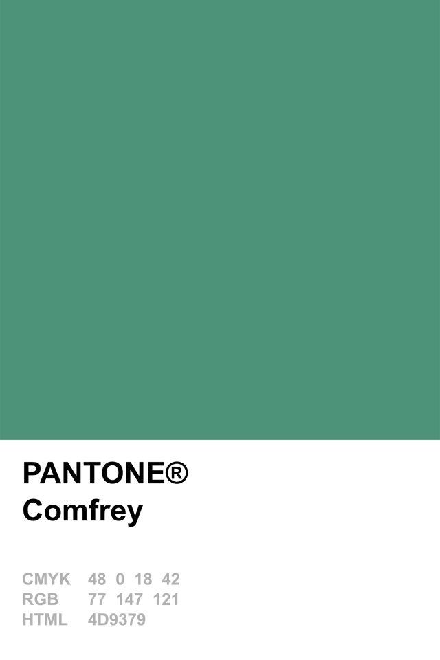 Pantone 2014 Comfrey