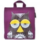 Coq en pate, owl backpack