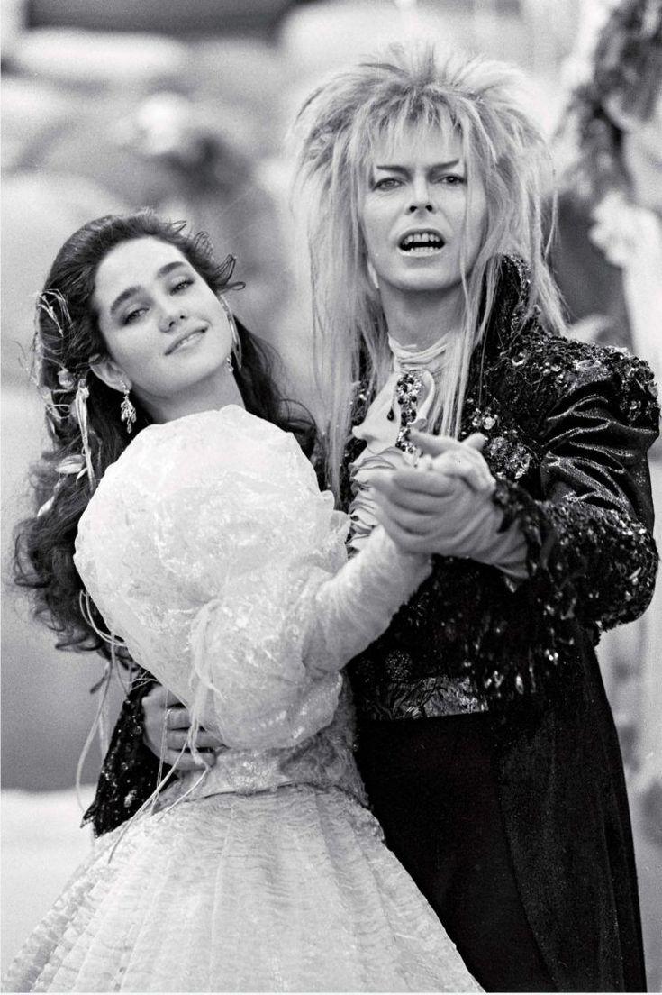 Jennifer Connelly & David Bowie in Labyrinth (1986) /  Dir: Jim Henson