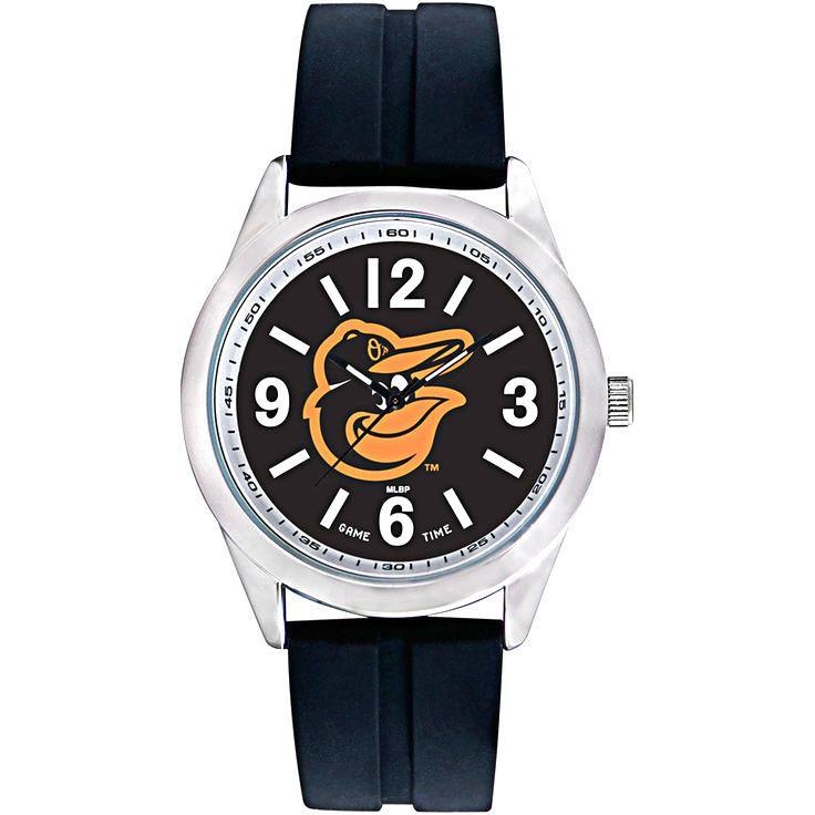 Baltimore Orioles Bird Varsity Silicone Watch - $31.96