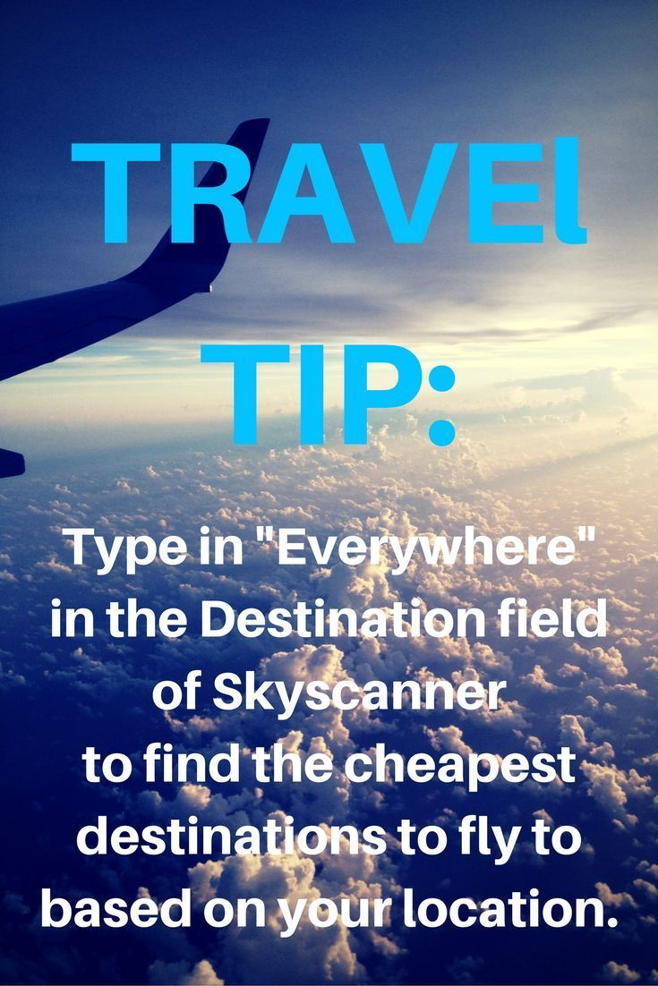 #Travel tip from my fave flight booking site. Seriously Skyscanner is the best!