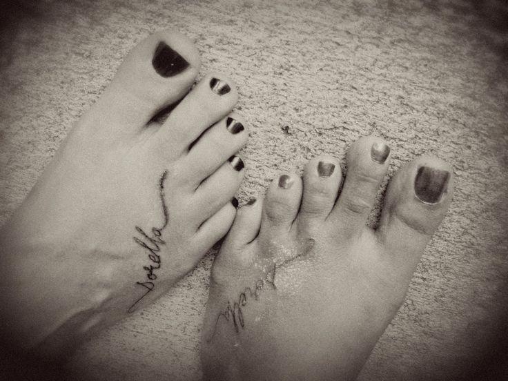 'sister' in italian tattoo