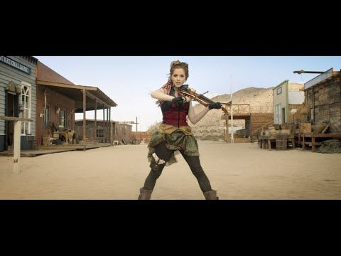 "Premiere: Lindsey Stirling Gets Wild In The West For Her ""Roundtable Rival"" Video"