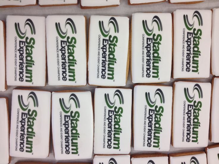 Logo biscuits for one of our regular coporate clients