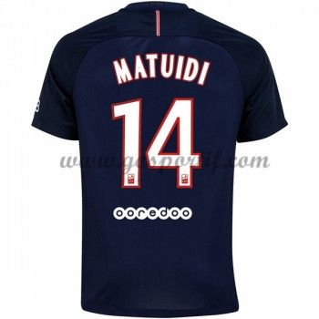 maillot de foot Ligue 1 Paris Saint Germain Psg 2016-17 Matuidi 14 maillot  domicile