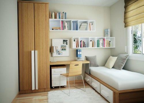 Einrichtungsideen - Small bedroom Arrange - Mission reachable!