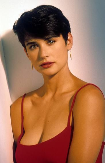 """Moore's iconic look from her role in """"Indecent Proposal."""" (Photo: Getty Images)"""